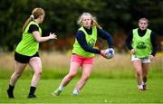 30 July 2020; Dana O'Brien during a Leinster U18 Girls Squad Training session at Cill Dara RFC in Kildare. Photo by Piaras Ó Mídheach/Sportsfile