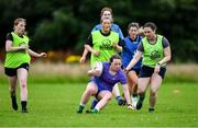 30 July 2020; Kathryn Dempsey during a Leinster U18 Girls Squad Training session at Cill Dara RFC in Kildare. Photo by Piaras Ó Mídheach/Sportsfile