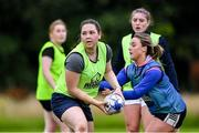 30 July 2020; Isabelle Clarke during a Leinster U18 Girls Squad Training session at Cill Dara RFC in Kildare. Photo by Piaras Ó Mídheach/Sportsfile