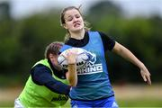 30 July 2020; Caoimhe O'Callaghan during a Leinster U18 Girls Squad Training session at Cill Dara RFC in Kildare. Photo by Piaras Ó Mídheach/Sportsfile