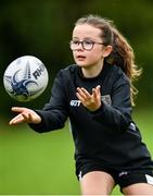 30 July 2020; Ruby Devlin during the Bank of Ireland Leinster Rugby Summer Camp at Dundalk RFC in Louth. Photo by Eóin Noonan/Sportsfile