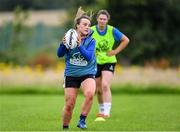 30 July 2020; Eve Dalton during a Leinster U18 Girls Squad Training session at Cill Dara RFC in Kildare. Photo by Piaras Ó Mídheach/Sportsfile
