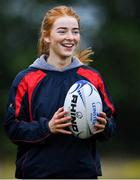 30 July 2020; Gemma Faulkner during a Leinster U18 Girls Squad Training session at Cill Dara RFC in Kildare. Photo by Piaras Ó Mídheach/Sportsfile