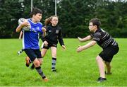 30 July 2020; Daniel Smith, right, and Daragh Brady during the Bank of Ireland Leinster Rugby Summer Camp at Dundalk RFC in Louth. Photo by Eóin Noonan/Sportsfile