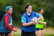 30 July 2020; Rebecca Francis during a Leinster U18 Girls Squad Training session at Cill Dara RFC in Kildare. Photo by Piaras Ó Mídheach/Sportsfile