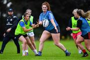 30 July 2020; Emer Hogan during a Leinster U18 Girls Squad Training session at Cill Dara RFC in Kildare. Photo by Piaras Ó Mídheach/Sportsfile