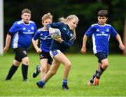 30 July 2020; Eimear O'Neill during the Bank of Ireland Leinster Rugby Summer Camp at Dundalk RFC in Louth.  Photo by Eóin Noonan/Sportsfile