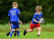 30 July 2020; Participants in action during the Bank of Ireland Leinster Rugby Summer Camp at Dundalk RFC in Louth. Photo by Eóin Noonan/Sportsfile