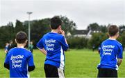 30 July 2020; Participants during the Bank of Ireland Leinster Rugby Summer Camp at Dundalk RFC in Louth. Photo by Eóin Noonan/Sportsfile