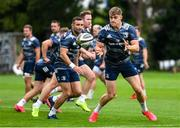 30 July 2020; Garry Ringrose during Leinster Rugby squad training at UCD in Dublin. Professional rugby continues its return in a phased manner, having been suspended since March due to the Irish Government's efforts to contain the spread of the Coronavirus (COVID-19) pandemic. Having had zero positive results from the latest round of PCR testing, the Leinster Rugby players and staff have been cleared to enter the next phase of their return to rugby today which includes a graduated return to contact training. Photo by Conor Sharkey for Leinster Rugby via Sportsfile