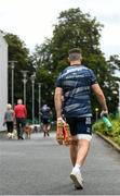 30 July 2020; Josh Murphy makes his way to Leinster Rugby squad training at UCD in Dublin. Professional rugby continues its return in a phased manner, having been suspended since March due to the Irish Government's efforts to contain the spread of the Coronavirus (COVID-19) pandemic. Having had zero positive results from the latest round of PCR testing, the Leinster Rugby players and staff have been cleared to enter the next phase of their return to rugby today which includes a graduated return to contact training. Photo by Marcus Ó Buachalla for Leinster Rugby via Sportsfile