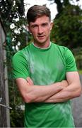 31 July 2020; Ronan Finn poses for a portrait after a Shamrock Rovers Media Conference at Roadstone Social Club in Kingswood, Co Dublin. Photo by Piaras Ó Mídheach/Sportsfile