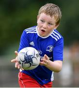 31 July 2020; Rory Bridson, age 8, during a Bank of Ireland Leinster Rugby Summer Camp at Coolmine RFC in Dublin. Photo by Matt Browne/Sportsfile