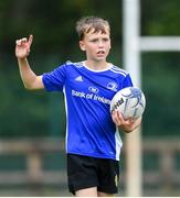 31 July 2020; Tom Brandsman during a Bank of Ireland Leinster Rugby Summer Camp at Coolmine RFC in Dublin. Photo by Matt Browne/Sportsfile