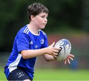 31 July 2020; Eoghan Bridson during a Bank of Ireland Leinster Rugby Summer Camp at Coolmine RFC in Dublin. Photo by Matt Browne/Sportsfile