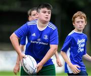 31 July 2020; Donagh Nevin during a Bank of Ireland Leinster Rugby Summer Camp at Coolmine RFC in Dublin. Photo by Matt Browne/Sportsfile