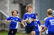 31 July 2020; Max Chiswick, age 8, during a Bank of Ireland Leinster Rugby Summer Camp at Coolmine RFC in Dublin. Photo by Matt Browne/Sportsfile