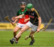 1 August 2020; Des Dunne of Danesfort in action against Niall Brassil of James Stephens during the Kilkenny County Senior Hurling League Group A match between James Stephens and Danesfort at UPMC Nowlan Park in Kilkenny. GAA matches continue to take place in front of a limited number of people due to the ongoing Coronavirus restrictions. Photo by Matt Browne/Sportsfile