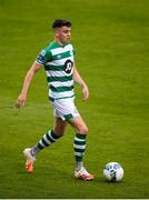 1 August 2020; Gary O'Neill of Shamrock Rovers during the SSE Airtricity League Premier Division match between Shamrock Rovers and Finn Harps at Tallaght Stadium in Dublin. The SSE Airtricity League Premier Division made its return this weekend after 146 days in lockdown but behind closed doors due to the ongoing Coronavirus restrictions. Photo by Stephen McCarthy/Sportsfile