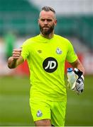 1 August 2020; Alan Mannus of Shamrock Rovers following the SSE Airtricity League Premier Division match between Shamrock Rovers and Finn Harps at Tallaght Stadium in Dublin. The SSE Airtricity League Premier Division made its return this weekend after 146 days in lockdown but behind closed doors due to the ongoing Coronavirus restrictions. Photo by Stephen McCarthy/Sportsfile