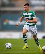 1 August 2020; Aaron McEneff of Shamrock Rovers during the SSE Airtricity League Premier Division match between Shamrock Rovers and Finn Harps at Tallaght Stadium in Dublin. The SSE Airtricity League Premier Division made its return this weekend after 146 days in lockdown but behind closed doors due to the ongoing Coronavirus restrictions. Photo by Stephen McCarthy/Sportsfile