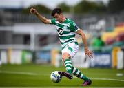 1 August 2020; Neil Farrugia of Shamrock Rovers during the SSE Airtricity League Premier Division match between Shamrock Rovers and Finn Harps at Tallaght Stadium in Dublin. The SSE Airtricity League Premier Division made its return this weekend after 146 days in lockdown but behind closed doors due to the ongoing Coronavirus restrictions. Photo by Stephen McCarthy/Sportsfile
