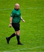 1 August 2020; Referee Mairtín O'Flatharta during the Galway County Senior Football Championship Group 4B Round 1 match between An Cheathrú Rua and Milltown at Pearse Stadium in Galway. GAA matches continue to take place in front of a limited number of people in an effort to contain the spread of the Coronavirus (COVID-19) pandemic. Photo by Piaras Ó Mídheach/Sportsfile