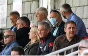 2 August 2020; FAI President Gerry McAnaney, wearing a face covering, watches on during the SSE Airtricity League Premier Division match between Cork City and Bohemians at Turners Cross in Cork. The SSE Airtricity League Premier Division made its return this weekend after 146 days in lockdown but behind closed doors due to the ongoing Coronavirus restrictions. Photo by Stephen McCarthy/Sportsfile