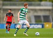 2 August 2020; Darragh Nugent of Shamrock Rovers II during the SSE Airtricity League First Division match between Shamrock Rovers II and Drogheda United at Tallaght Stadium in Dublin. The SSE Airtricity League made its return this weekend after 146 days in lockdown but behind closed doors due to the ongoing Coronavirus restrictions. Photo by Seb Daly/Sportsfile