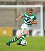 2 August 2020; Alex Dunne of Shamrock Rovers II during the SSE Airtricity League First Division match between Shamrock Rovers II and Drogheda United at Tallaght Stadium in Dublin. The SSE Airtricity League made its return this weekend after 146 days in lockdown but behind closed doors due to the ongoing Coronavirus restrictions. Photo by Seb Daly/Sportsfile