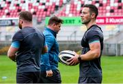 3 August 2020; John Cooney during Ulster Rugby squad training at Kingspan Stadium in Belfast. Photo by Robyn McMurray for Ulster Rugby via Sportsfile