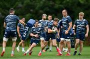 4 August 2020; Garry Ringrose during Leinster Rugby squad training at UCD in Dublin. Professional rugby continues its return in a phased manner, having been suspended since March due to the ongoing Coronavirus restrictions. Having had zero positive results from the latest round of PCR testing, the Leinster Rugby players and staff have been cleared to enter the next phase of their return to rugby today which includes a graduated return to contact training. Photo by Ramsey Cardy/Sportsfile
