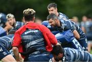 4 August 2020; Rob Kearney during Leinster Rugby squad training at UCD in Dublin. Professional rugby continues its return in a phased manner, having been suspended since March due to the ongoing Coronavirus restrictions. Having had zero positive results from the latest round of PCR testing, the Leinster Rugby players and staff have been cleared to enter the next phase of their return to rugby today which includes a graduated return to contact training. Photo by Ramsey Cardy/Sportsfile