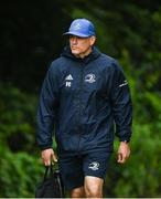 4 August 2020; Backs coach Felipe Contepomi during Leinster Rugby squad training at UCD in Dublin. Professional rugby continues its return in a phased manner, having been suspended since March due to the ongoing Coronavirus restrictions. Having had zero positive results from the latest round of PCR testing, the Leinster Rugby players and staff have been cleared to enter the next phase of their return to rugby today which includes a graduated return to contact training. Photo by Ramsey Cardy/Sportsfile