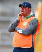 31 July 2020; Ballyhale Shamrocks manager James O'Connor during the Kilkenny County Senior Hurling League Group A match between Ballyhale Shamrocks and Tullaroan at UPMC Nowlan Park in Kilkenny. GAA matches continue to take place in front of a limited number of people in an effort to contain the spread of the Coronavirus (COVID-19) pandemic. Photo by Matt Browne/Sportsfile