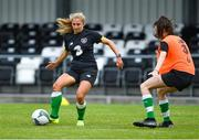 4 August 2020; Ellen Molloy during Republic of Ireland Women's Under-17 Training Camp at Tramore AFC in Waterford. Photo by Piaras Ó Mídheach/Sportsfile