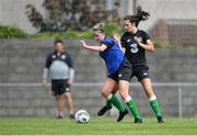 4 August 2020; Jessie Stapleton, left, and Laura Shine during Republic of Ireland Women's Under-17 Training Camp at Tramore AFC in Waterford. Photo by Piaras Ó Mídheach/Sportsfile