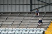 1 August 2020; Supporters sit in the stand during the Cork County Senior Hurling Championship Group B Round 1 match between Blackrock and Erin's Own at Páirc Uí Rinn  in Cork. GAA matches continue to take place in front of a limited number of people due to the ongoing Coronavirus restrictions. Photo by Brendan Moran/Sportsfile