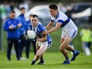 5 August 2020; Kieran Kennedy of Ballyboden St Endas in action against Liam McGovern of St Vincent's during the Dublin County Senior Football Championship Round 2 match between St Vincent's and Ballyboden St Endas at Pairc Naomh Uinsionn in Marino, Dublin. Photo by Stephen McCarthy/Sportsfile