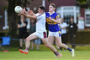 5 August 2020; Brian Howard of Raheny in action against Darragh Warnock of Castleknock during the Dublin County Senior Football Championship Round 2 match between Raheny and Castleknock at St Anne's Park in Raheny, Dublin. Photo by Piaras Ó Mídheach/Sportsfile