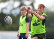 6 August 2020; Paddy Byrne in action during the Leinster U18 Schools Training at Terenure RFC in Lakeland's Park in Dublin. Photo by Matt Browne/Sportsfile