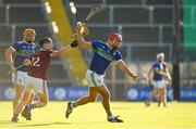 7 August 2020; John Lacey of Glynn-Barntown in action against David Codd of St Martin's during the Wexford County Senior Hurling Championship Quarter-Final match between St Martin's and Glynn-Barntown at Chadwicks Wexford Park in Wexford. Photo by Matt Browne/Sportsfile