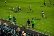 8 August 2020; A general view during the Dublin County Senior Hurling Championship Group 1 Round 3 match between St Vincent's and Lucan Sarsfields at Parnell Park in Dublin. Photo by David Fitzgerald/Sportsfile