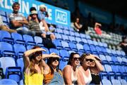 8 August 2020; Supporters look on during the Dublin County Senior Hurling Championship Group 1 Round 3 match between St Vincent's and Lucan Sarsfields at Parnell Park in Dublin. Photo by David Fitzgerald/Sportsfile