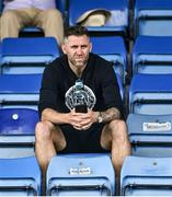 8 August 2020; Former Republic of Ireland international Daryl Murphy in attendance during the SSE Airtricity League Premier Division match between Waterford and Cork City at RSC in Waterford. Photo by Sam Barnes/Sportsfile