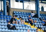 8 August 2020; Former Republic of Ireland international Daryl Murphy, second from left in attendance during the SSE Airtricity League Premier Division match between Waterford and Cork City at RSC in Waterford. Photo by Sam Barnes/Sportsfile