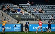 8 August 2020; Supporters look on during the Dublin County Senior Hurling Championship Group 4 Round 3 match between Na Fianna and Cuala at Parnell Park in Dublin. Photo by David Fitzgerald/Sportsfile
