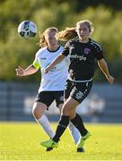 8 August 2020; Ellen Molloy of Wexford Youths in action against Sinead O'Farrelly of Bohemians during the FAI Women's National League match between Wexford Youths and Bohemians at Ferrycarrig Park in Wexford. Photo by Sam Barnes/Sportsfile