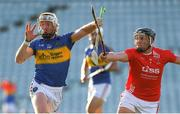 8 August 2020; Cian Lynch of Patrickswell in action against Mikey O'Brien of Doon during the Limerick County Senior Hurling Championship Section A Group 1 Round 3 match between Doon and Patrickswell at LIT Gaelic Grounds in Limerick. Photo by Matt Browne/Sportsfile