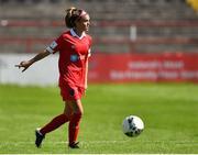 8 August 2020; Jamie Finn of Shelbourne during the FAI Women's National League match between Shelbourne and Cork City at Tolka Park in Dublin. Photo by Eóin Noonan/Sportsfile
